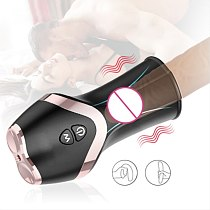 Glans trainer Male Masturbation Cup Air pinch retarded ejaculation 360 ° auto fit waterproof Adult For Men Penis Products