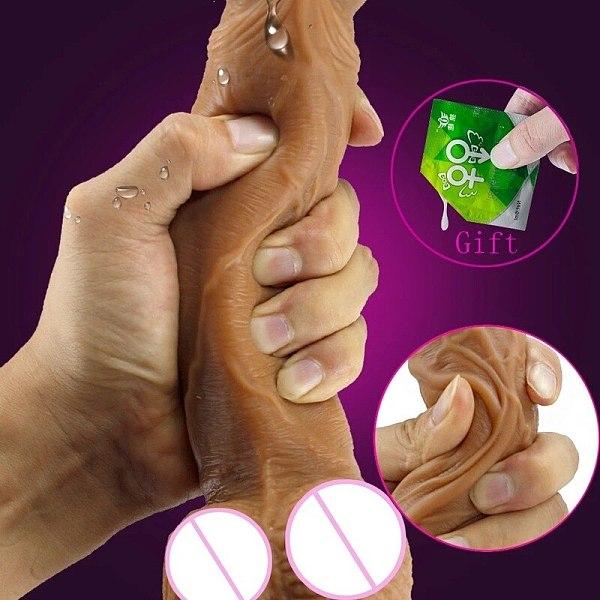 Silicone Dildo Realistic Penis with Suction Cup G Spot Vagina Stimulator Female Masturbation Sex Products Erotic Orgasm Sex Toy