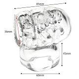OLO Magic Wand Attachment Nozzles of Massager Penis Stimulator for Vibrators AV Wand Male Masturbator Accessory