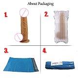 FLXUR Penis Realistic Dildo For Women Soft Flexible Suction Cup Female Masturbator Vagina Adult Erotic Sex Toy Product Cock