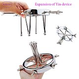 Extreme Anal Spreader Vaginal Dilator Huge Butt Plug Ass Expander Speculum Chastity Device For Women BDSM Men Gay Sex Toys