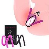 Foldable Labia Clamps Pussy Spreader,G-spot Clitoris Stimulation Vagina Speculum,Silicone Vagina Device Sex Toys For Couple Flir