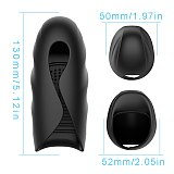 Rechargeable 10 Vibration Modes Glan Massager for Men Automatic Device Male Delayed Aircraft Cup Trainers Adult Game Toys