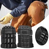 1pair Construction Site Knee Pad For Working Trouser Industrial Crashproof Factory EVA Leg Protection Workplace Gardening