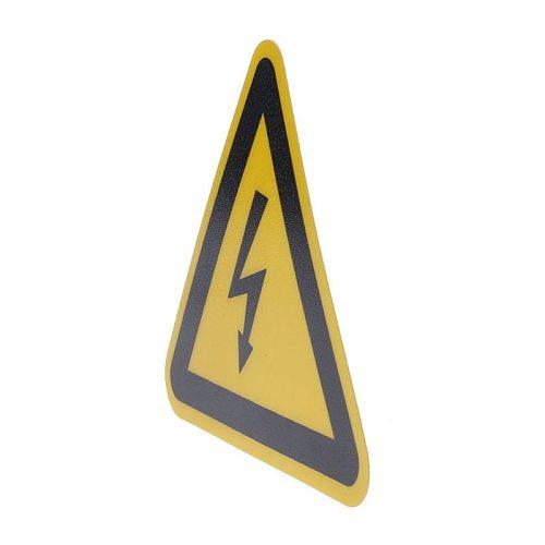 Warning Sticker Adhesive Labels Electrical Shock Hazard Danger Notice Safety 25mm 50mm 100cm PVC Waterproof