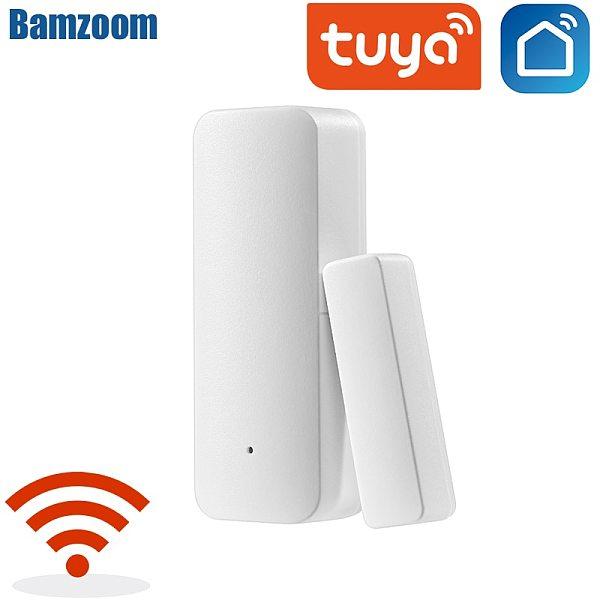 Home Smart Spot Door alarm/Tuya WiFi Door Sensor Door Open Closed Detectors WiFi App Notification Alert security alarm system