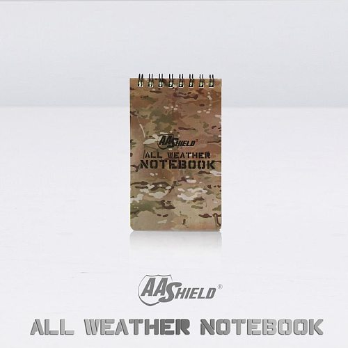 AA Shield All Weather 3 X5  Waterproof Note Camo Outdoor Map Notebook