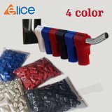 Free choose one of  4 color 100 pcs/Bag EAS Security Euroslot hook stop lock hook anti theft Euro tags of retail store-JSK-021