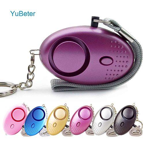 120dB Self Defense Alarm Egg Shape Child Girl Women Security Protect Alert Personal Safety Scream Loud Emergency Alarm Keychain