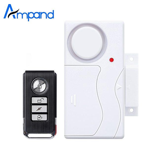 Wireless Home Security Window Door Burglar Alarm Magnetic Sensor with Remote Control door sensor alarm