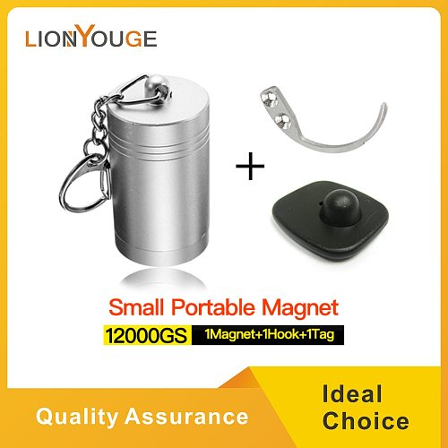 Strong magnetic bullet detacher,easyportable inner force 12000gs hard tag openner eas remover