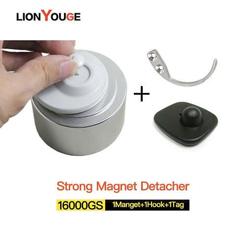 Universal Strong magnetic detacher 16000GS Eas hard tag Remover for clotes store