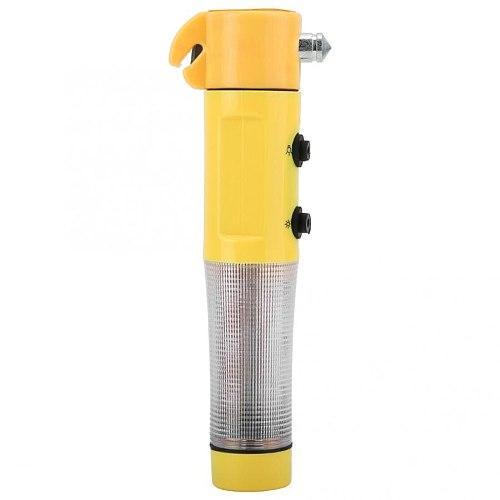 Multi-function Safety Hammer 4 in 1 Car Emergency Safety Escape Hammer Window Breaker with Flashlight Belt Cutter Emergency Save