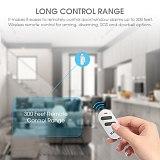 KERUI 300ft 120dB Wireless Door/Window Sensor Alarm Anti-Theft Motion Detector Remote Control for Home Safety Security PIR Smoke
