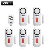KERUI 120DB Wireless Door/Window Entry Security Burglar Sensor Alarm PIR Magnetic Smart Home Garage System with Remote Control