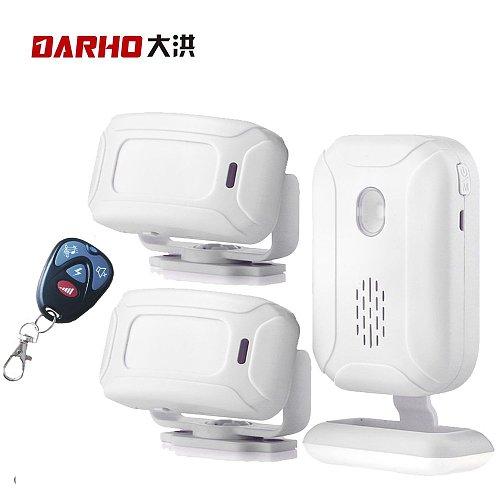Darho 36 Ringtones Shop Store Home Security Welcome Chime Wireless Infrared IR Motion Sensor Alarm Entry Doorbell Sensor