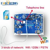 Wifi GSM PSTN Alarm System Wireless & Wired Detectors Alarm Smart Home Relay Output APP English/Russian/Spanish/France/Italian