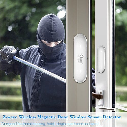 NEO COOLCAM NAS-DS01Z Z-wave Door Window Sensor Compatible with Z wave 300 500 series Magnet Lock Door Sensor Alarm
