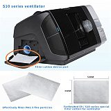 30Pcs Disposable Air Filters Premium Disposable Universal Replacement Filters for ResMed AirSense 10 AirCurve10 S9