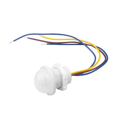 LED 110V 220V PIR Infrared Motion Sensor Switch Auto On Off Light Switch PIR Sensor Detector Smart Switch