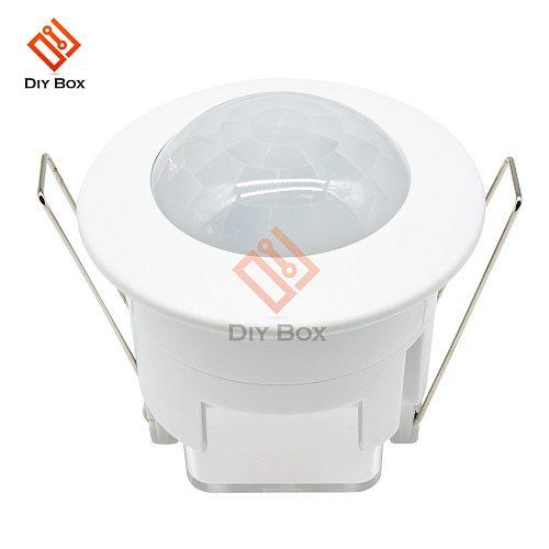 AC 220V Mini 360 Degree Ceiling PIR Motion Sensor Switch IR Infrared Induction Sensor Detector Controller Switch for LED Light