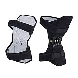 1PC Joint Support Knee Pads Breathable Non-slip Lift Knee Booster Pain Relief For Knee Power Spring Force Stabilizer Leg Protect