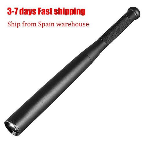 Self Defense Baseball Flashlight Stick LED Baseball Bat Aluminium Alloy Torch For Emergency Self Defense Anti Riot Equipment