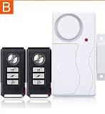 Darho Door Window Entry Security Wireless Remote Control Sensor Alarm Host Burglar Security Alarm System Home Protection Kit