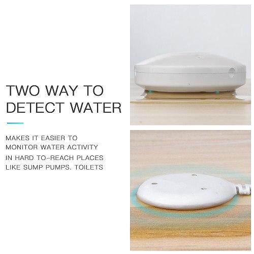 NEO COOLCAM Smart Water Leak Alarm Sensor Z wave Plus Water Flood Leakage Sensor With Remote Probe Water Resistant