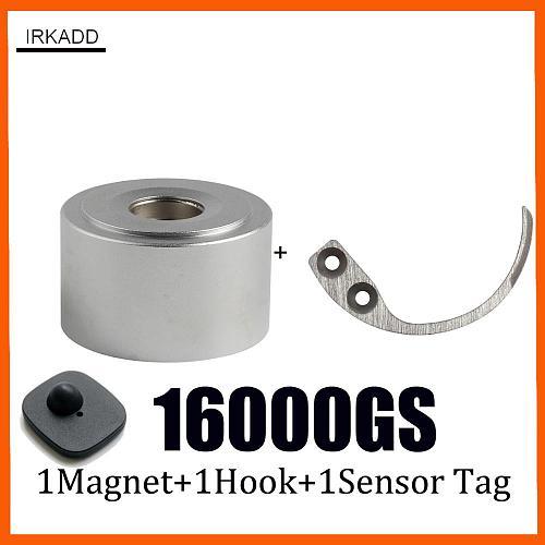 16000GS Tag Remover Magnet Super Security Tag Detacher For Checkpoint System Comppatible +Portale Hook Detacher +1 Sensor Tag
