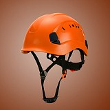 Safety Hard Hat - Adjustable ABS Climbing Helmet - 6-Point Suspension, Protective Helmet for Riding, Climbing and Construction