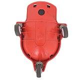 Rolling Knee Protection Pad with Wheel Built in Foam Padded Laying Platform Universal Wheel Kneeling Pad