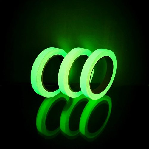 One Roll 1cm*10M Luminous Tape Self-adhesive Glow In The Dark Safety Stage Home Decorations Warning Tape
