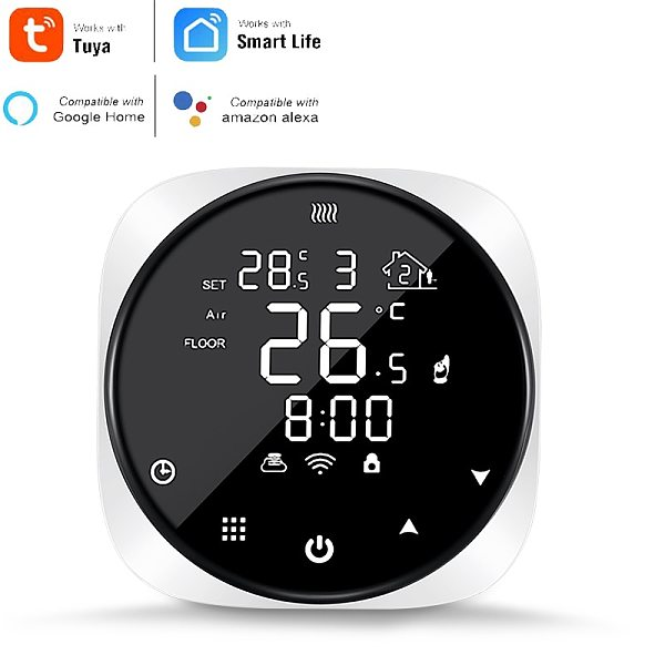 TUYA Wifi Smart Thermostat for Water Electric Floor Heating Gas Boiler Temperature Remote Controller Support Alexa Google