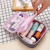 Mini Medical First Aid Bag Outdoor Travel Waterproof Nylon Pink Empty Medicine Organizer Survival Emergency Kits for Camping
