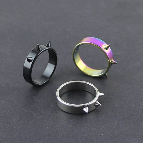 Self-Defense Ring Portable Finger Weapons Survival Outdoor Emergency Glass Breaking Punk Rings Protector