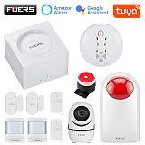 Fuers G95 Tuya Smart Wireless Alarm WIFI GSM Security Alarm System Kit APP Control Motion Detector Sensor Burglar Alarm System
