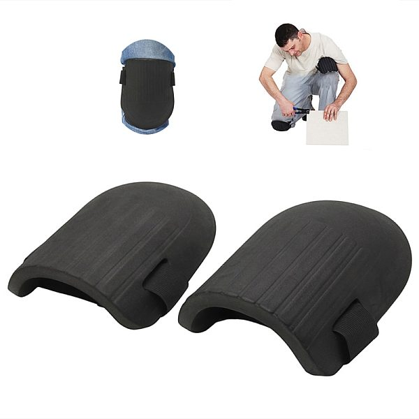 1 Pair Knee Pad Work Flexible Soft Foam Padding Workplace Safety Self Protection For Gardening Cleaning Protective Sport Kneepad
