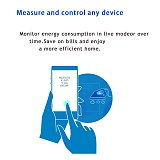 NEO Coolcam ZWAVE PLUS EU Smart Power Plug Socket Home Automation Alarm System Z Wave 868.4MHz Video Frequency