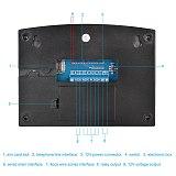 G2BW LCD Keypad WIFI GSM PSTN Home Burglar Security Wireless Wire Alarm System Motion Detector APP Control Fire Smoke Detector