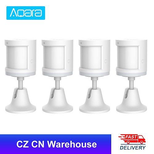 Aqara Human Body Sensor & Light Intensity Sensors Smart Movement Motion Sensor Zigbee wifi Wireless for Mi home APP RTCGQ11LM