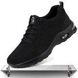 Summer Men's Militar CE Steel Toe Cap Work Shoes Breathable Mesh Men Safety Work Shoes Anti-smashing Light Male Sport Work Shoes