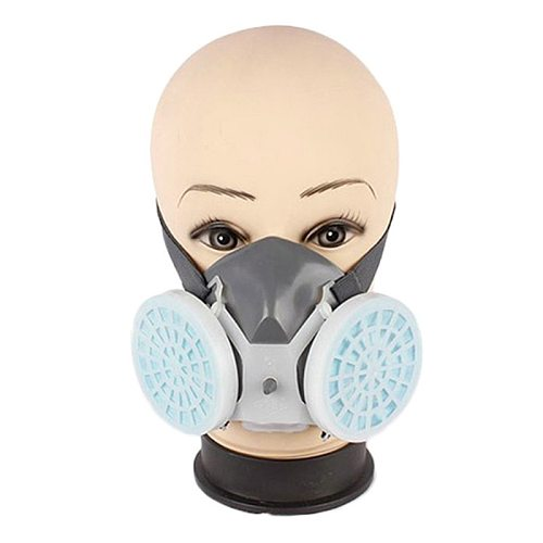 Dual Respirator Gas Mask Anti-Dust Twin Chemical Spray Paint Workplace Safety Protection Tools Dropship Hot Sale