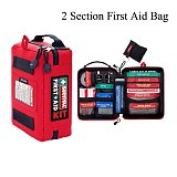 Handy First Aid Kit Waterproof Medical Bag for Hiking Camping Cycling Car Outdoor Travel Survival Kit Rescue Treatment