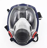 Chemical Mask 6800 Gas Mask Dustproof Respirator Paint Pesticide Spray Silicone Full Face Filters for Laboratory Welding