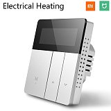 Mijia Smart WiFi Thermostat Temperature Controller for Water Electric Floor Gas Boiler Heating Control MI Home APP