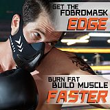 FDBRO Workout ,Running , Resistance ,Sports Mask Fitness Elevation ,Cardio ,Endurance Mask for Fitness Training Sports Mask 3.0