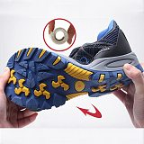 Compound Toe Cap Safety Shoes Women Boots Breathable Insulation 6KV Work Shoes Men Anti-smash Electrician Causal Work Shoes