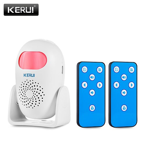 KERUI M120 Smart 100db PIR Infrared Anti-Theft Burglar Welcome Multifunction Human Motion Detector For Garage Shop Home Security