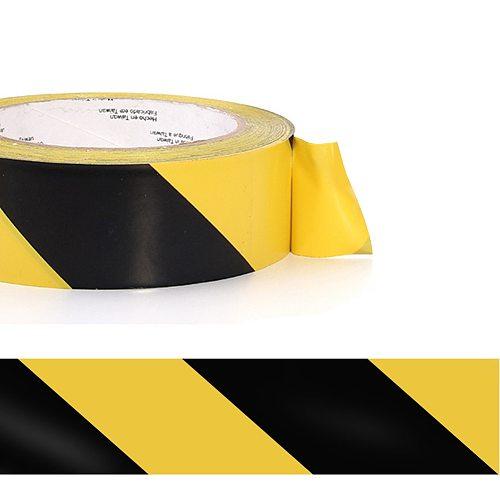 33mx50mm Waterproof Self Adhesive Dangerous Areas Safety Stairs Warning Tape Marking Floors Social Distancing Anti-Slipping PVC